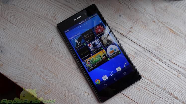 Sony Xperia Z1 test 4