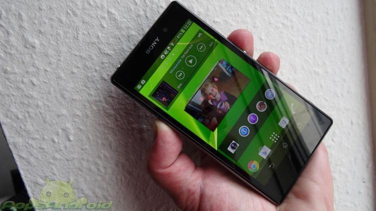 Sony Xperia Z1 test 5