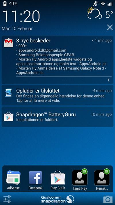 Snapdragon-Glance-widgets