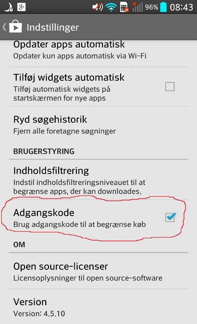 Kode-google-play