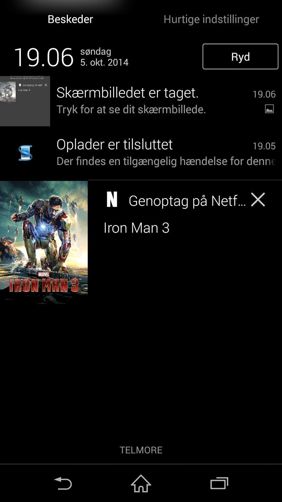Netflix-opdatering