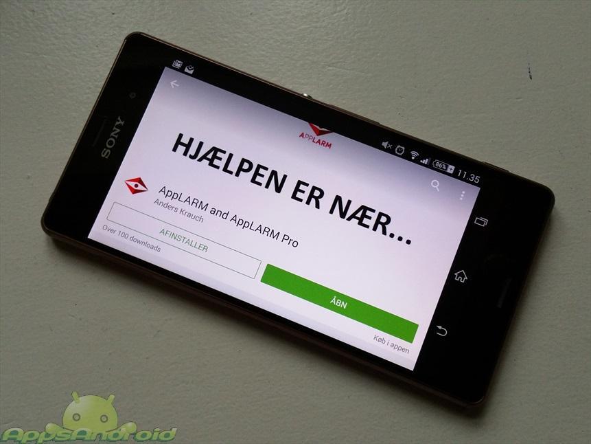 applarm-dansk-android-app