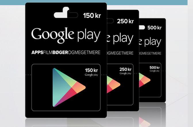 google play gavekort danmark