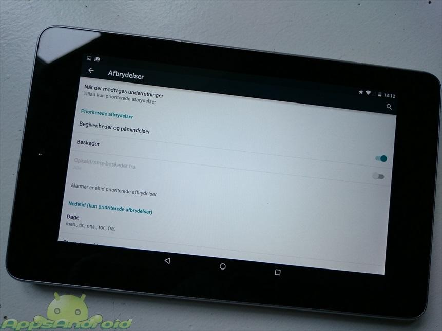 android-lollipop-lydløs-tilstand
