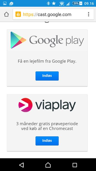 chromecast-gratis-viaplay