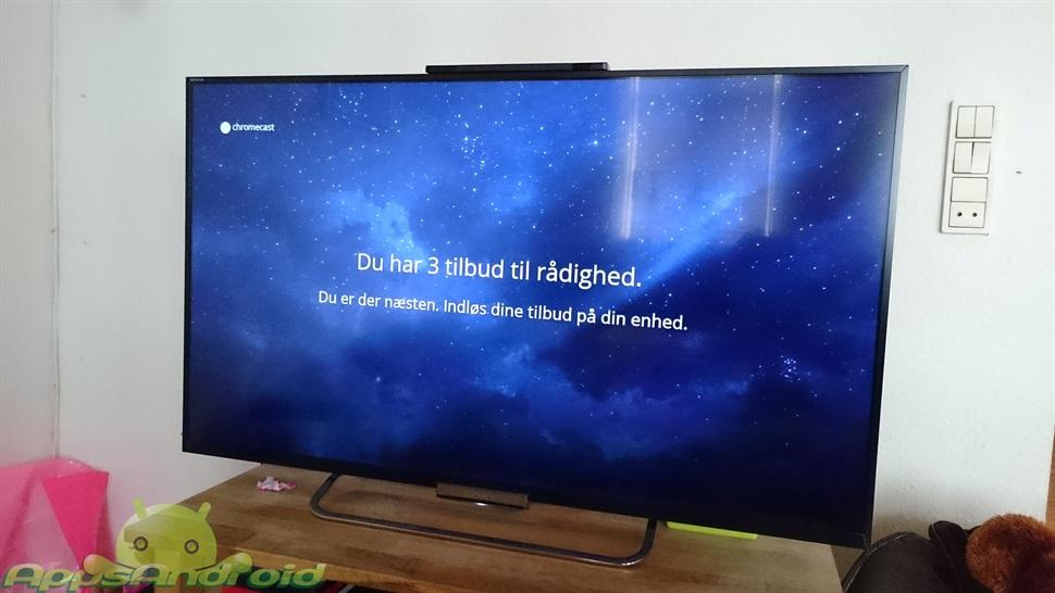 viaplay med chromecast på tv