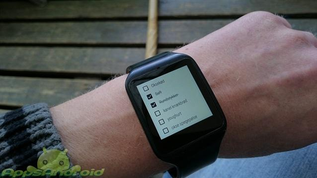 Google-keep-Android-Wear